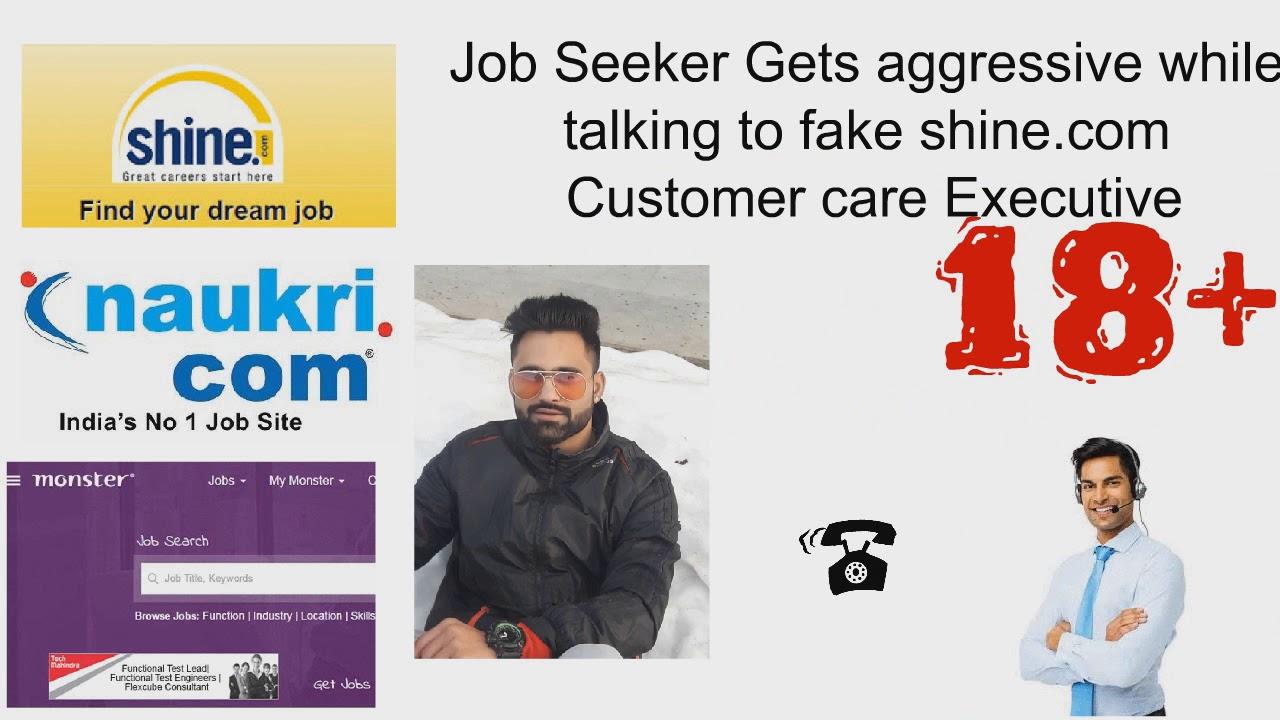 shine com || Call Recording b/w Shine com Scammer and Job Seeker (PART 2)||  scammer ki maa chood di
