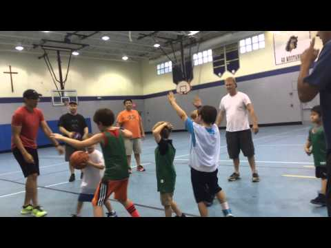 Isaiah's First Basketball Practice