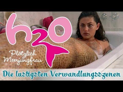 Die lustigste H2O-Verwandlungen;) // H2O - PLÖTZLICH MEERJUNGFRAU // offizieller Fankanal zur Serie