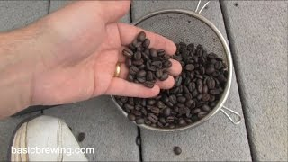 Extract Robust Coffee Stout - Basic Brewing Video - May 12, 2017