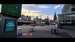 Melbourne CBD during coronavirus lockdown