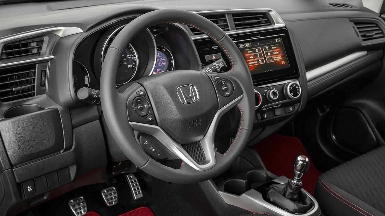 Honda Fit Interior >> 2018 Honda Fit Sport Us Spec Interior