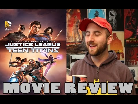 Justice League vs Teen Titans Movie Review