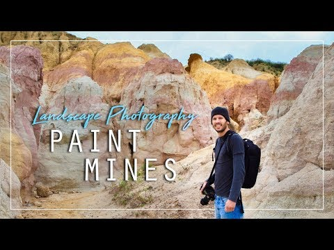 Landscape Photography: Paint Mines In Colorado