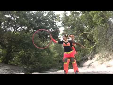 Amazing Hula Hoop Tricks! By Spunshine Electric Forest Casting - Youtube