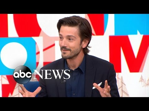 Star Wars Rogue One | Diego Luna Interview
