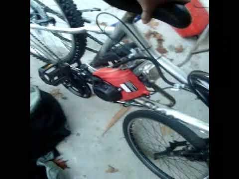 49cc 4 Stroke Bicycle Engine Kit Youtube