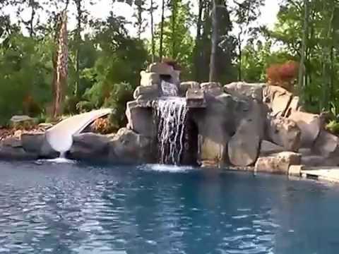 Custom charlotte swimming pool water slide for a charlotte - Playmobil swimming pool with waterslide ...