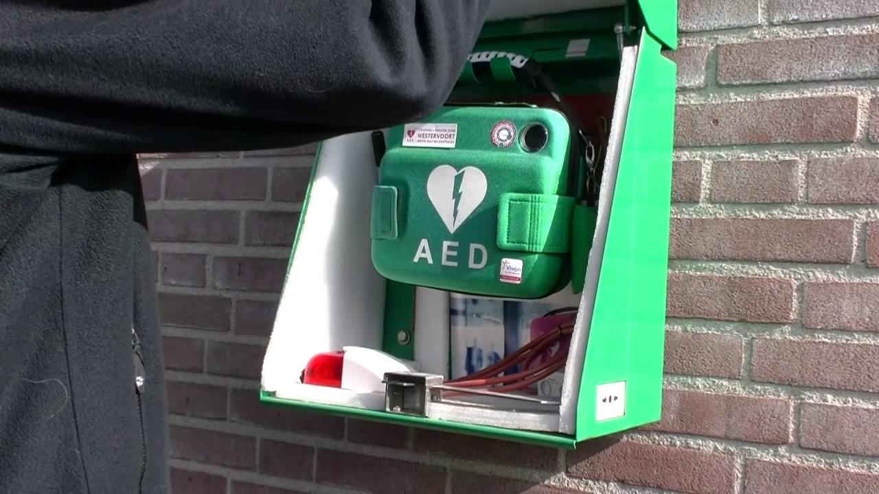 Hoe Open Je De Aed Kast Stichting Zes Minuten Zone Westervoort