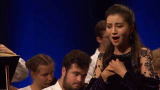 "Meigui Zhang:""Ach, ich fühl's"" (The Magic Flute) Verbier Festival 2019 Medici.tv"