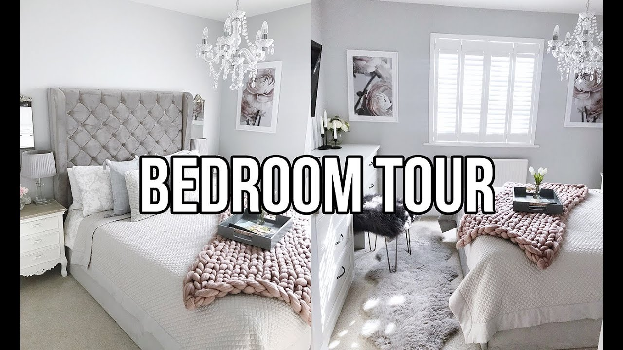 Glam Bedroom Tour Home Renovation Update Completed Room House Tour