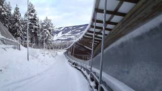 Skeleton @ Lillehammer - run 1