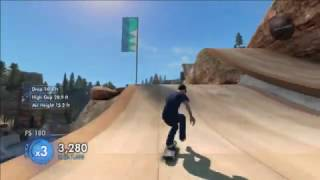 Skate 3 - Xbox 360 - Gameplay - Tricks & Fails (Part 1)