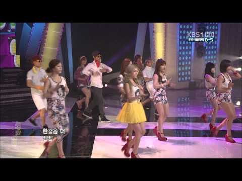 【1080P】T-ara - Roly Poly  (22 July,2012)