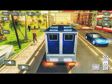 Bank Manager Cash Transport Truck - Best Android Gameplay HD