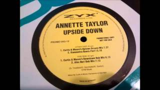 Annette Taylor - Upside Down (Curtis & Moore