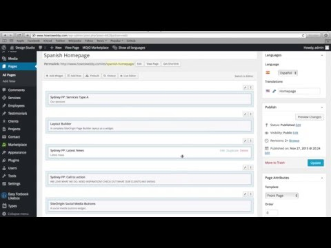 How to Translate WordPress Website Tutorial For Free - Step by Step