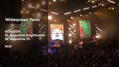 Widespread Panic Live at St. Augustine Ampitheatre, St. Augustine,FL - 9/24/2016 Full Show AUD