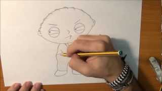 Dibujar a Stewie Griffin - How to draw Stewie Griffin