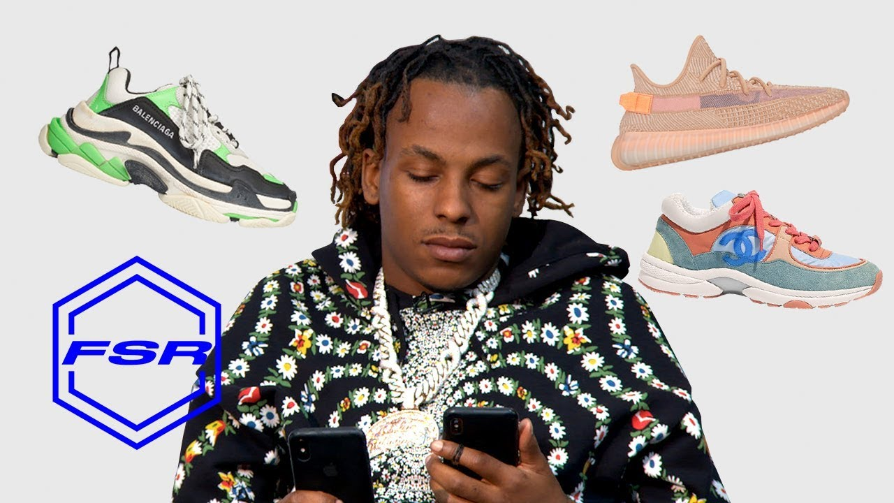 ca4b1a6324587 Rich the Kid Makes Emergency Call to the Sneaker Plug