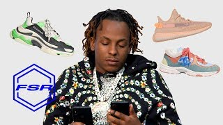 Rich the Kid Makes Emergency Call to the Sneaker Plug | Full Size Run