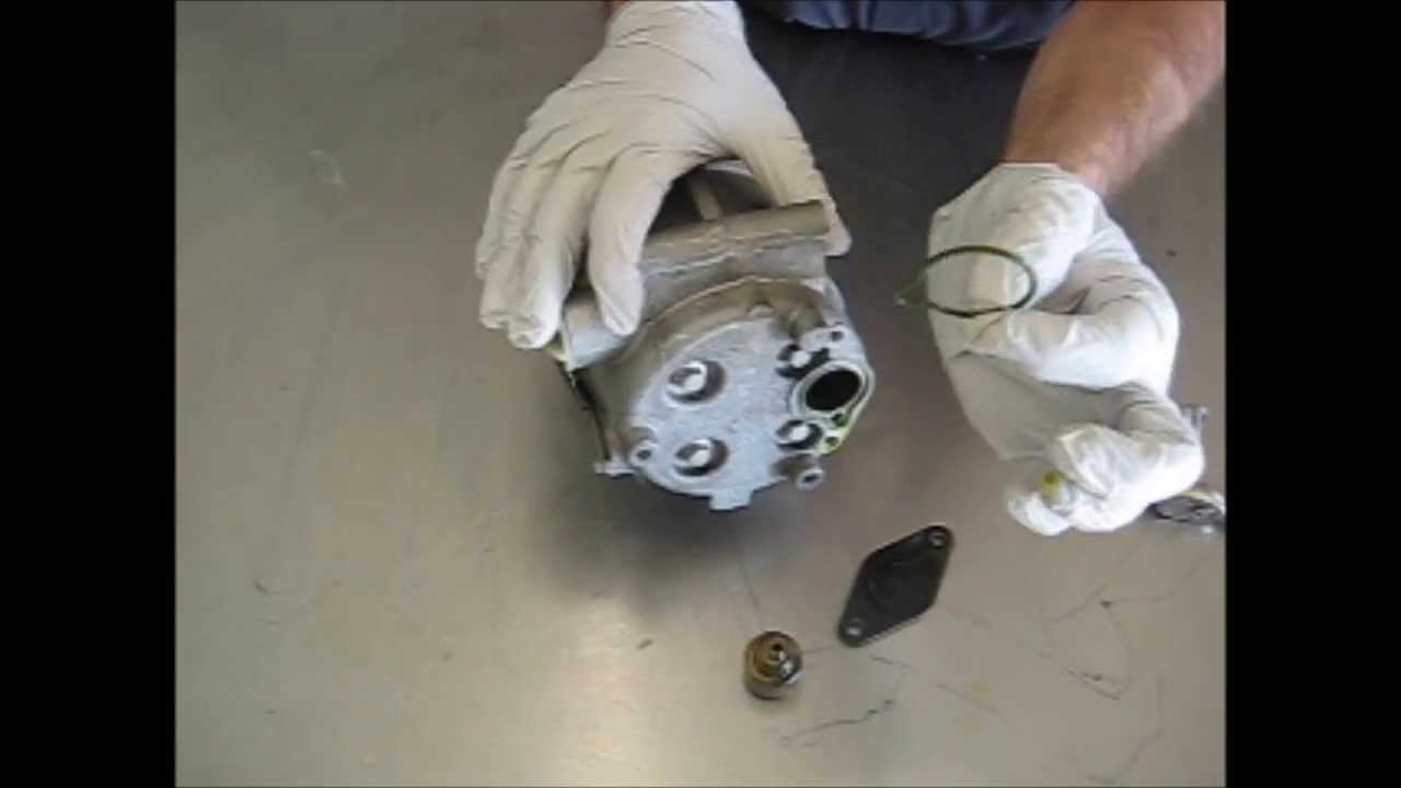 Diagnosing And Replacing Auto A C Scroll Type Compressor