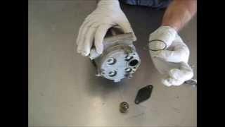Diagnosing and Replacing Auto A/C Scroll-type Compressor Control Valves