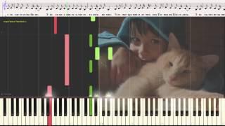 Родина - В. Черенцова (Трофим) (Ноты и Видеоурок для фортепиано) (piano cover)