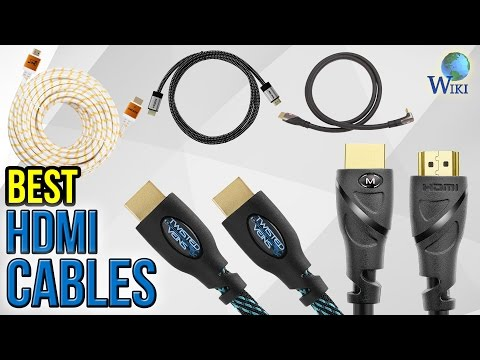 10 Best HDMI Cables 2017