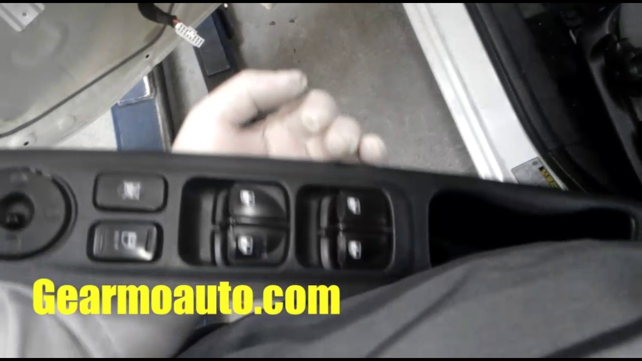 20072009 Hyundai Accent power windows not workimg right
