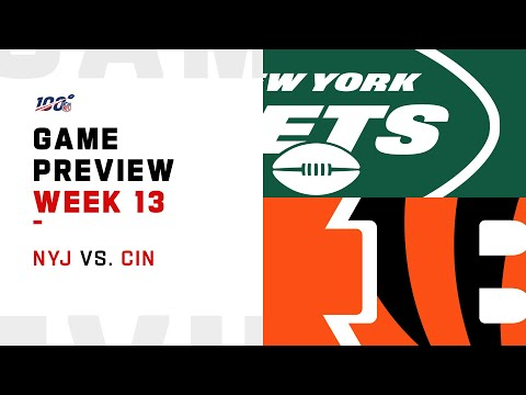 New York Jets Vs Cincinnati Bengals Week 13 NFL Game Preview