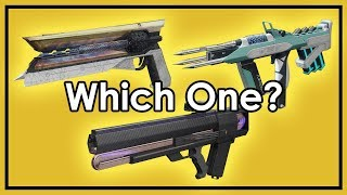 Destiny 2: Which Exotic To Pick - Sunshot, Riskrunner or Graviton Lance?