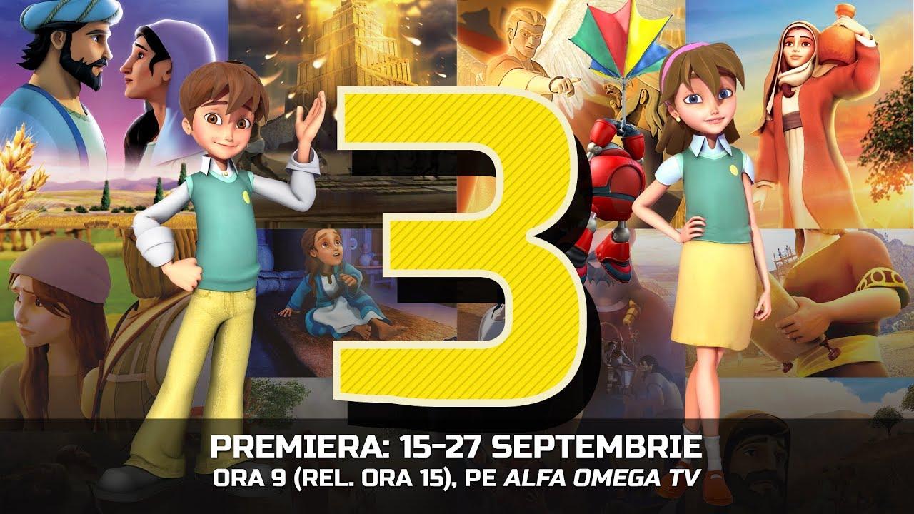 Cartea Cartilor - Premiera sezonului 3 - 15-27 septembrie 2018, la Alfa Omega TV