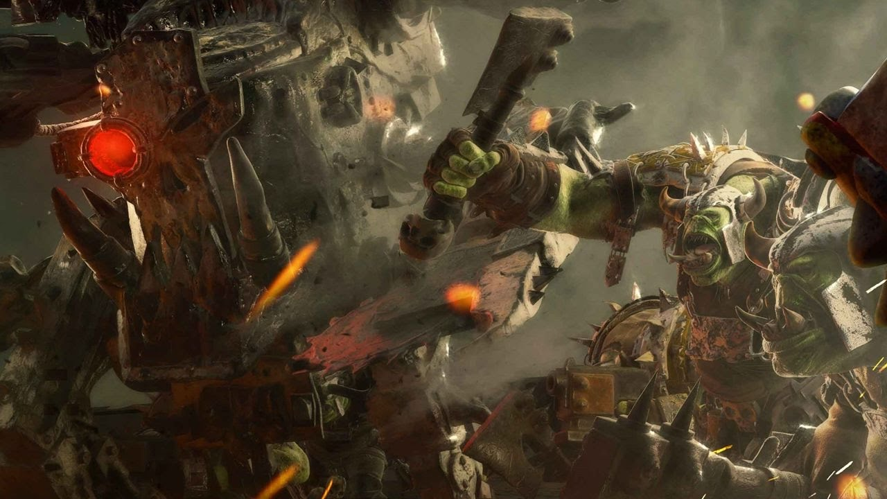 Dawn Of War 3 Multiplayer Waaagh Tower Pumped Up Youtube