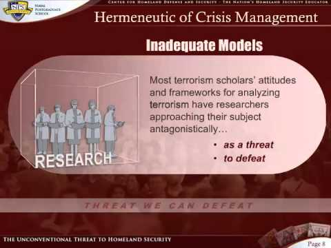 Social Identity Theory - Module I - A Brief Overview of Terrorism Studies