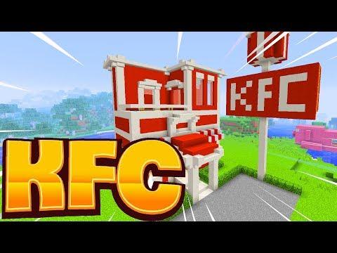 Cách Làm Nhà Hàng KFC Trong Minecraft (Minecraft)