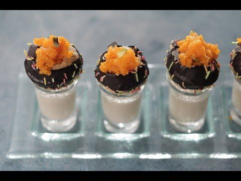 Chocolate Gol Gappa Shots | Sanjeev Kapoor Khazana