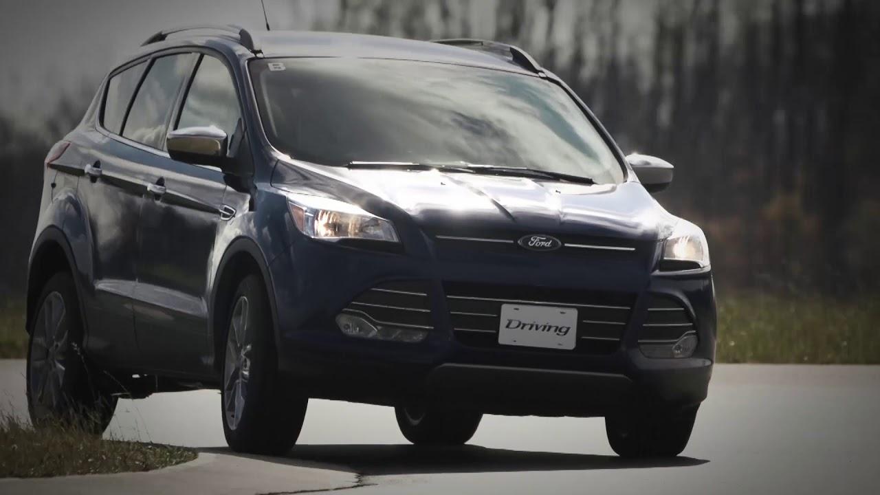 2014 Ford Escape Mpg >> Suv Review 2014 Ford Escape Se Awd Driving
