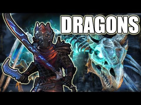 ESO - DRAGON SLAYIN TIME! (Elder Scrolls Online \
