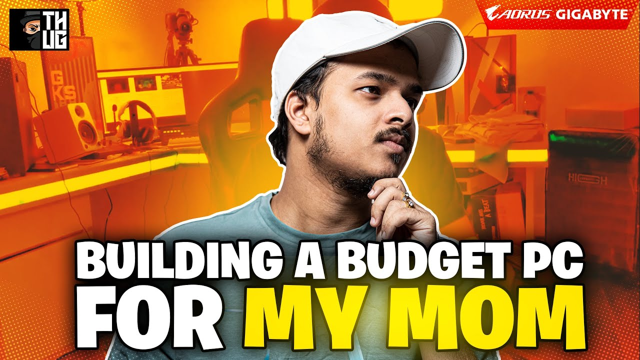 Rs.100000 BUDGET PC BUILDING FOR MY MOM || Mid level Gaming Build ||
