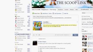 Farmville 2 - How to Copy & Paste Links on Facebook