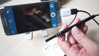 Ear Scope Endoscope Borescope Inspection Camera - Review