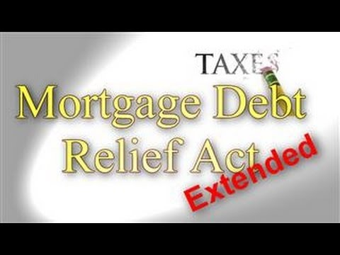the-mortgage-debt-forgiveness-extended