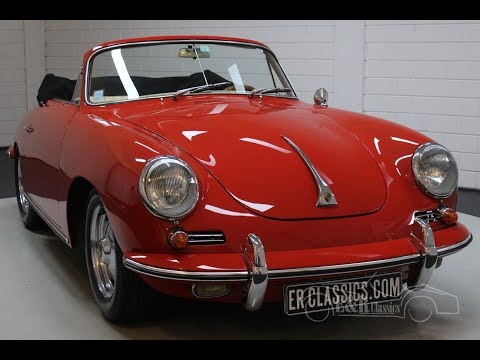 Porsche 356B T6 Cabriolet Super 90 1962 -VIDEO- www.ERclassics.com