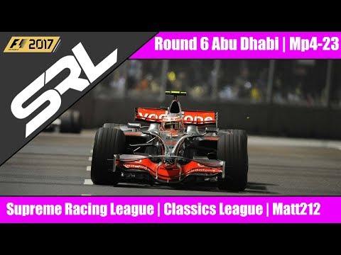 F1 2017 SRL CLASSICS Round 6 Abu Dhabi Live!