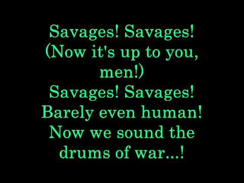 Savages lyrics