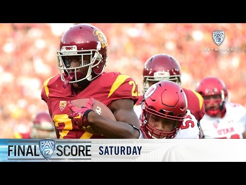 Highlights: USC football upsets No. 3 Utah