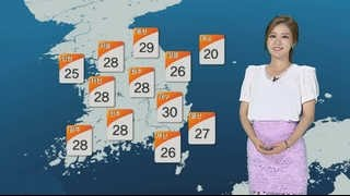 [날씨] 맑고 더운 날씨 계속…화요일 전국 '비'