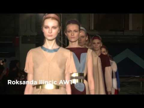 Roksanda Ilincic London Fashion Week show: Roksanda Ilincic AW14 Collection