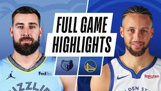 GRIZZLIES at WARRIORS | FULL GAME HIGHLIGHTS | May 16, 2021